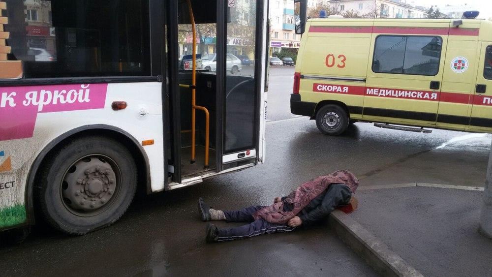 Напроспекте Октября вУфе мужчина был насмерть сбит пассажирским автобусом