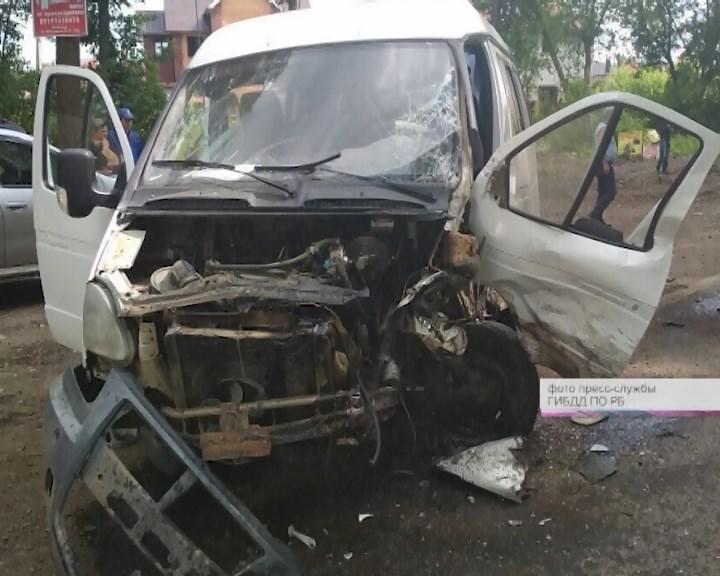 В Уфе произошла авария со смертельным исходом