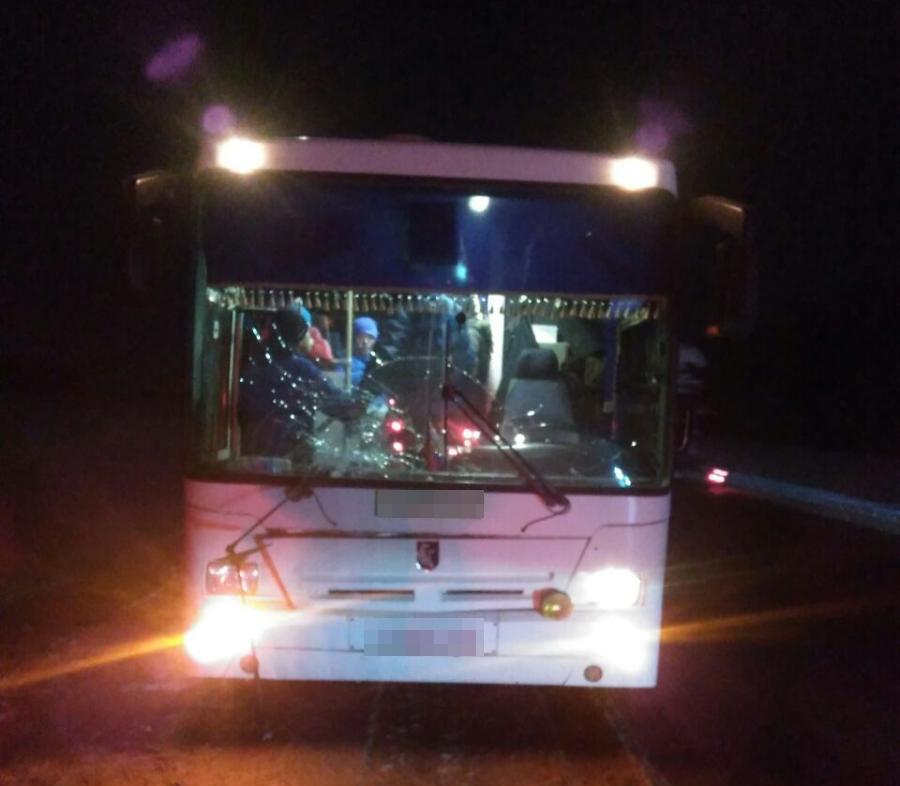 ВБашкирии автобус насмерть сбил женщину