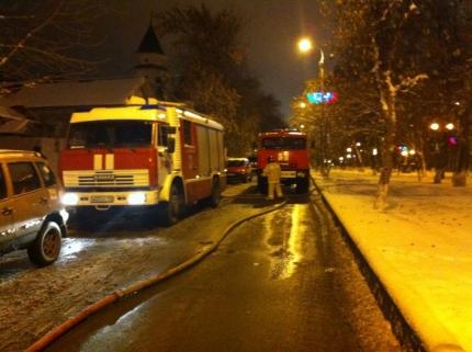 ВУфе около мечети произошёл пожар