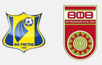 «Ростов» вдомашнем матче сминимальным счетом победил «Уфу»