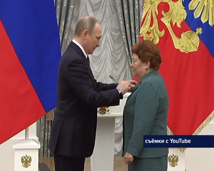 Преподаватель изУфы удостоена звания «Народный учитель России»