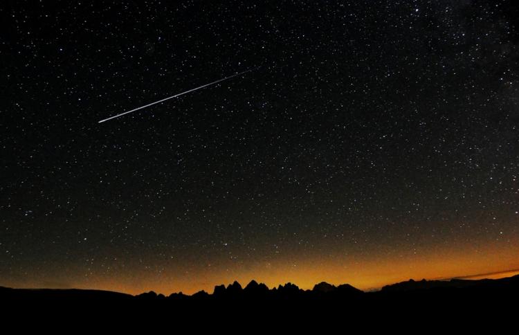Уфимцы смогут увидеть метеоритный поток
