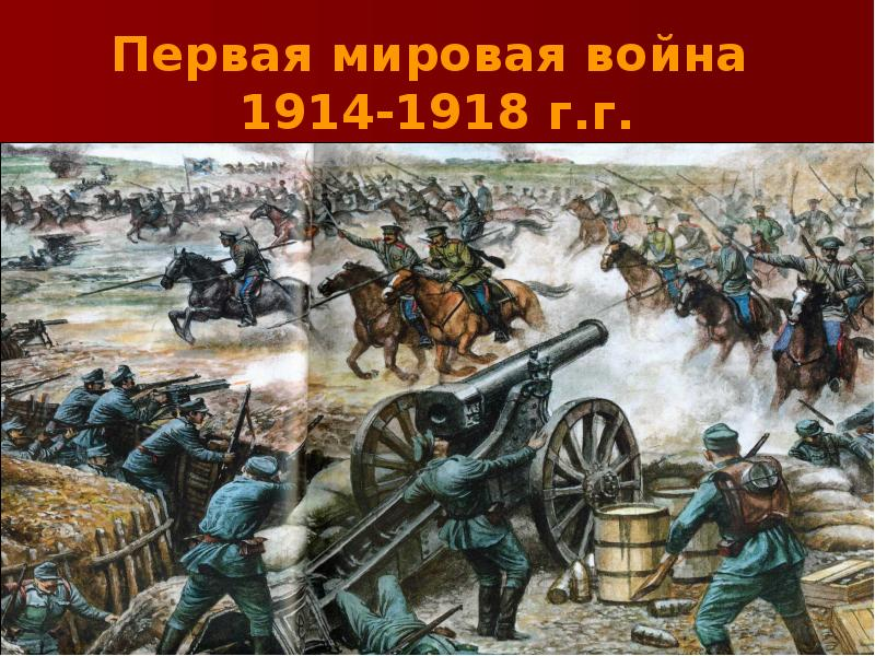 Начало первой мировой войны с кем связано