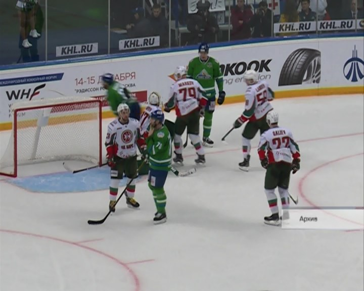 Дубль Пигановича помог «Нефтехимику» побороть «Салават Юлаев» вматче КХЛ
