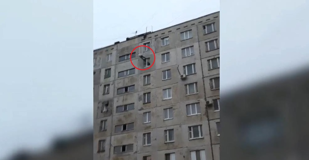 ВУфе мужчина выпал скрыши 9-этажного дома